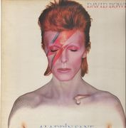 LP - David Bowie - Aladdin Sane - UK ORIGINAL 3T