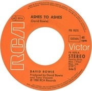 7inch Vinyl Single - David Bowie - Ashes To Ashes