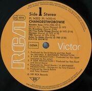 LP - David Bowie - ChangesTwoBowie