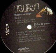 LP - David Bowie - Diamond Dogs
