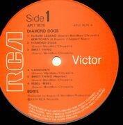 LP - David Bowie - Diamond Dogs - UK A-1 B-1
