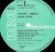 LP - David Bowie - Heroes