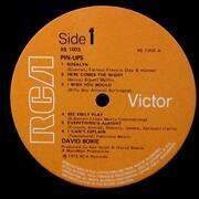 LP - David Bowie - Pinups - orange labels, no Stereo