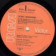 LP - David Bowie - Scary Monsters - Club Edition