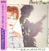 LP - David Bowie - Scary Monsters - OBI, JAPAN, Insert