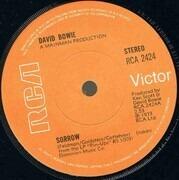 7inch Vinyl Single - David Bowie - Sorrow - Solid Centre