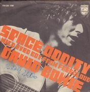 7inch Vinyl Single - David Bowie - Space Oddity - GERMAN PS 7'