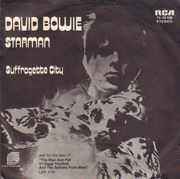 7inch Vinyl Single - David Bowie - Starman / Suffragette City - Original German / Picture Sleeve