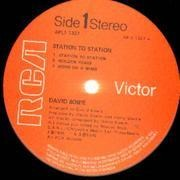 LP - David Bowie - Station To Station - Cover missing