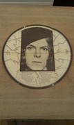 LP - David Bowie - The Man Who Sold The World - Gimmix Round Cover RARE