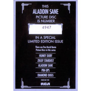 Picture LP - David Bowie - Aladdin Sane