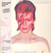 LP - David Bowie - Aladdin Sane - No 977, Clear Vinyl, DMM