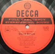 LP - David Bowie - David Bowie - Coccinelle Varietes Series