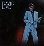 Double LP - David Bowie - David Live - Gatefold