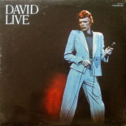 Double LP - David Bowie - David Live - US ORANGE LABEL