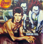 LP - David Bowie - Diamond Dogs - GREEN LABELS