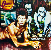 LP - David Bowie - Diamond Dogs - Gatefold