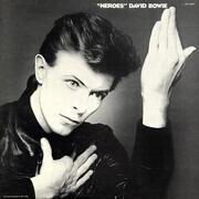 LP - David Bowie - 'Heroes' - US BLACK LABEL 1980