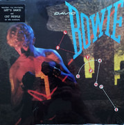 LP - David Bowie - Let's Dance - Greece