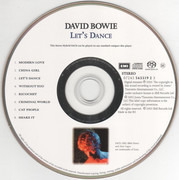 SACD - David Bowie - Let's Dance - SACD