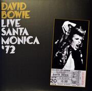 Double LP - David Bowie - Live Santa Monica '72