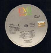 LP - David Bowie - Never Let Me Down
