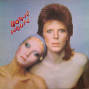 LP - David Bowie - Pinups - Black Label UK + INSERT