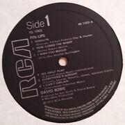 LP - David Bowie - Pinups - Black Label UK + INSERT
