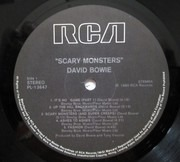 LP - David Bowie - Scary Monsters