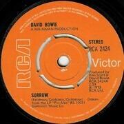 7inch Vinyl Single - David Bowie - Sorrow - Push-out centre