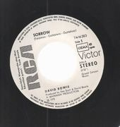 7inch Vinyl Single - David Bowie - Sorrow - promo