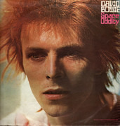 LP - David Bowie - Space Oddity - UK 1E