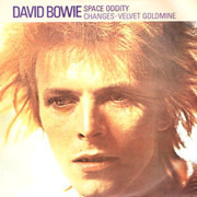 7inch Vinyl Single - David Bowie - Space Oddity - Push-out Centre