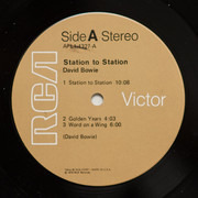 LP - David Bowie - Station To Station - Indianapolis Press