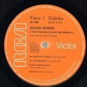 LP - David Bowie - The Man Who Sold The World