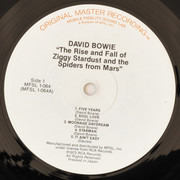 LP - David Bowie - The Rise And Fall Of Ziggy Stardust And The Spiders From Mars - Ltd-.Remastered Audiophile