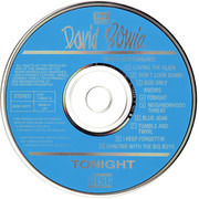 CD - David Bowie - Tonight