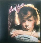 LP - David Bowie - Young Americans - MainMan Logo, Stereo Labels