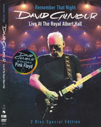 DVD-Box - David Gilmour - Remember That Night (Live At The Royal Albert Hall) - Slipcase