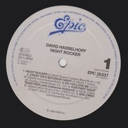 LP - David Hasselhoff - Night Rocker - Grey Labels