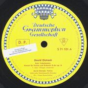LP - Tchaikovsky / Beethoven (Oistrach) - Konzert Für Violine Und Orchester D-dur Op. 35 / Romanze Für Violine Und Orchester Nr. 1 G-dur Op. 40 - Tulip Rim / Club Edition / Mono