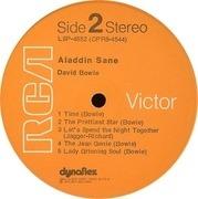 LP - David Bowie - Aladdin Sane - Dynaflex US