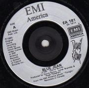 7'' - David Bowie - Blue Jean - Silver Injection-print Labels