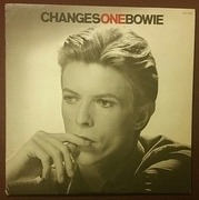 LP - David Bowie - ChangesOneBowie - black labels