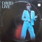 Double LP - David Bowie - David Live - Gatefold