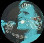 Double LP - David Bowie - David Live