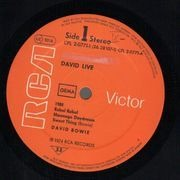 Double LP - David Bowie - David Live
