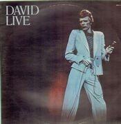 Double LP - David Bowie - David Live - BLACK LABELS
