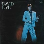 Double LP - David Bowie - David Live - ORANGE LABELS
