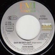 7'' - David Bowie - Day-In Day-Out